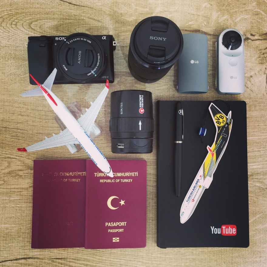 Passport and camera accessories